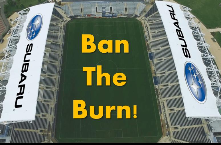 Subaru Ban the Burn